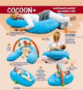 Kojící polštář 6 v 1 Cocoon Plus Nattou