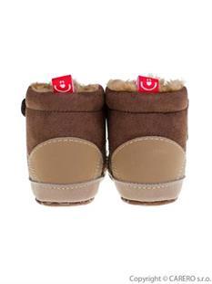 Zimní kojenecké capáčky - botičky - dojčenské topánky - topánočky