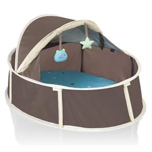 Babymoov Babyni 2v1 Small skládací postýlka a hrací centrum v jednom
