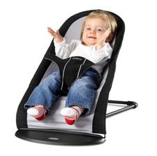 Baby Sitter Balance lehátko - Black / Silver